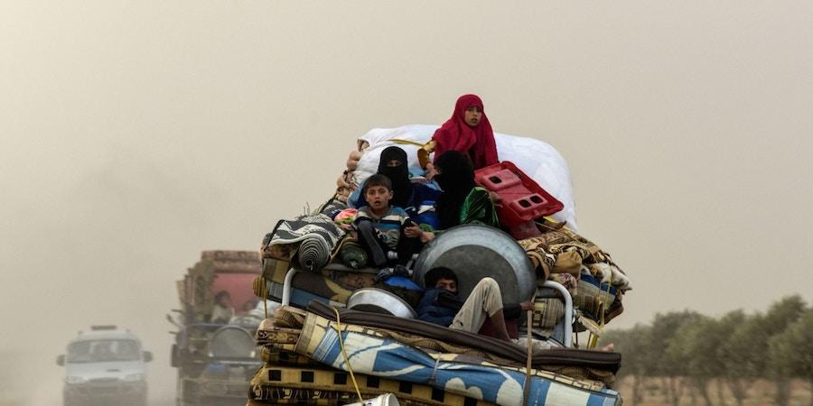 A cidade síria que viveu três anos sob o cerco do Estado Islâmico