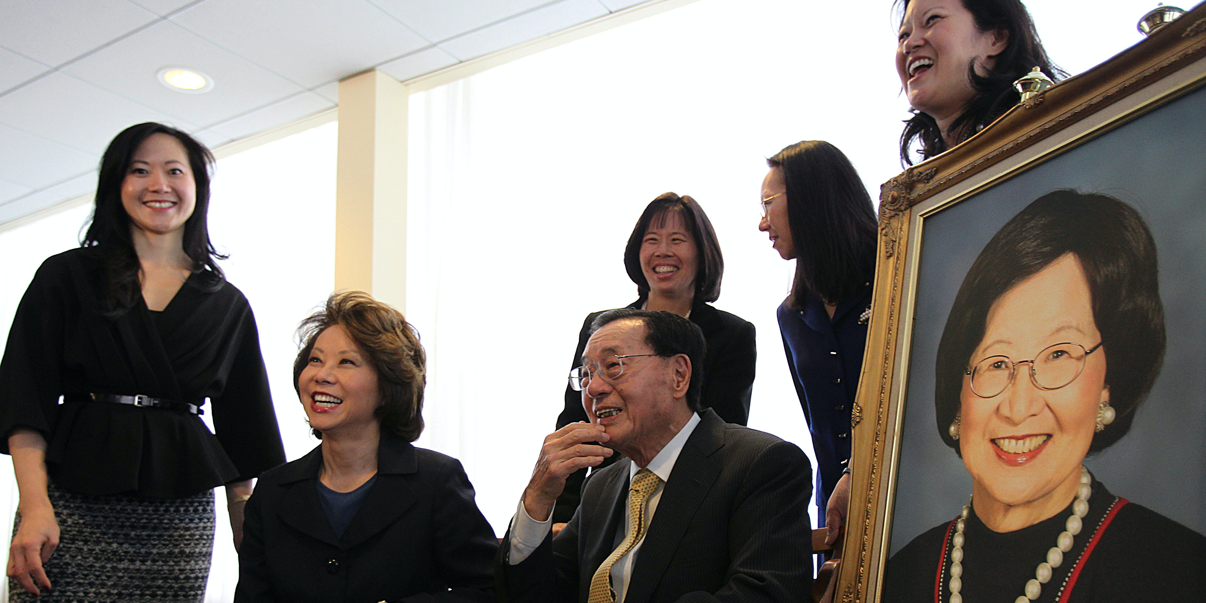 Elaine Chao's Family Fortune S...