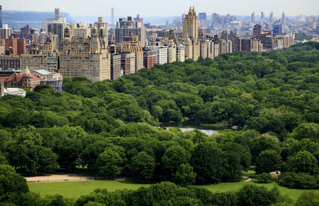 Manhattan's Upper West Side and Central Park are shown, Monday, May 17, 2010 in New York. (AP Photo/Mark Lennihan)
