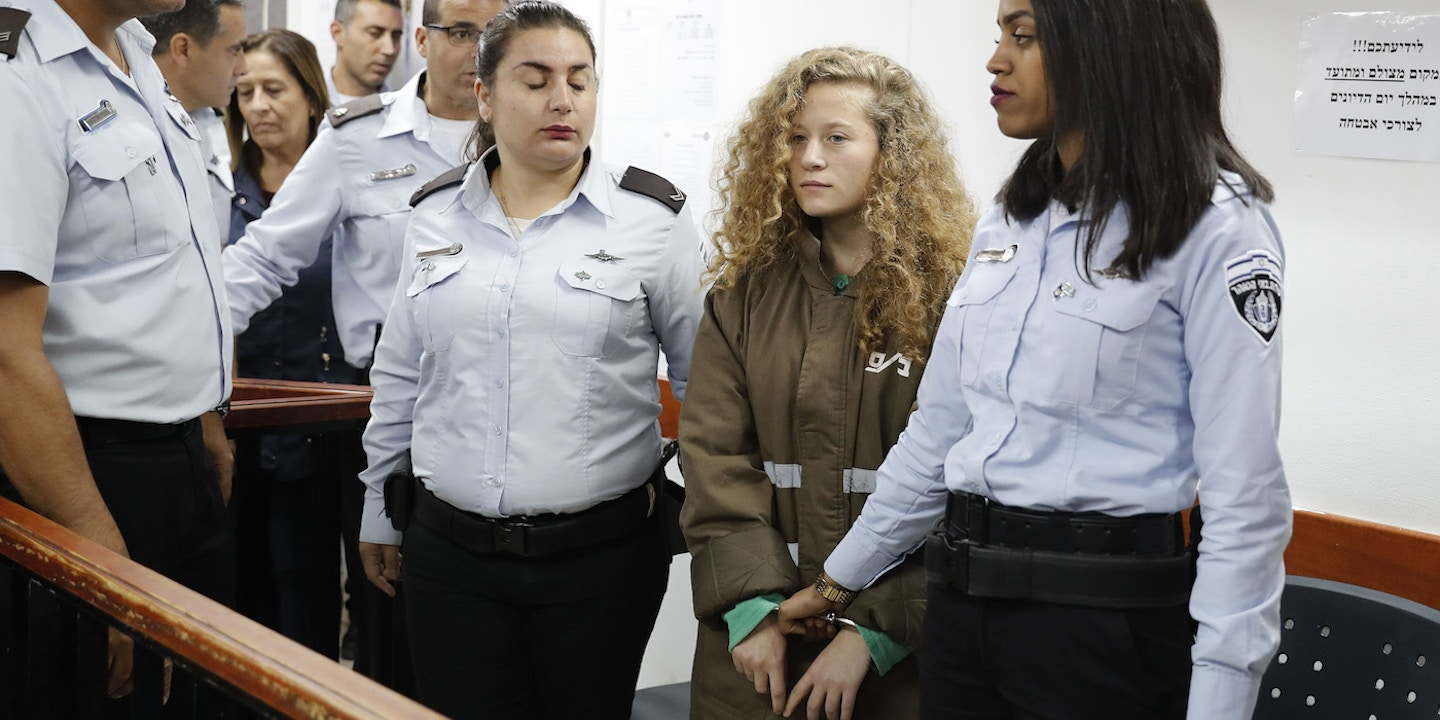 israeli official mocked for saying ahed tamimi is an actor