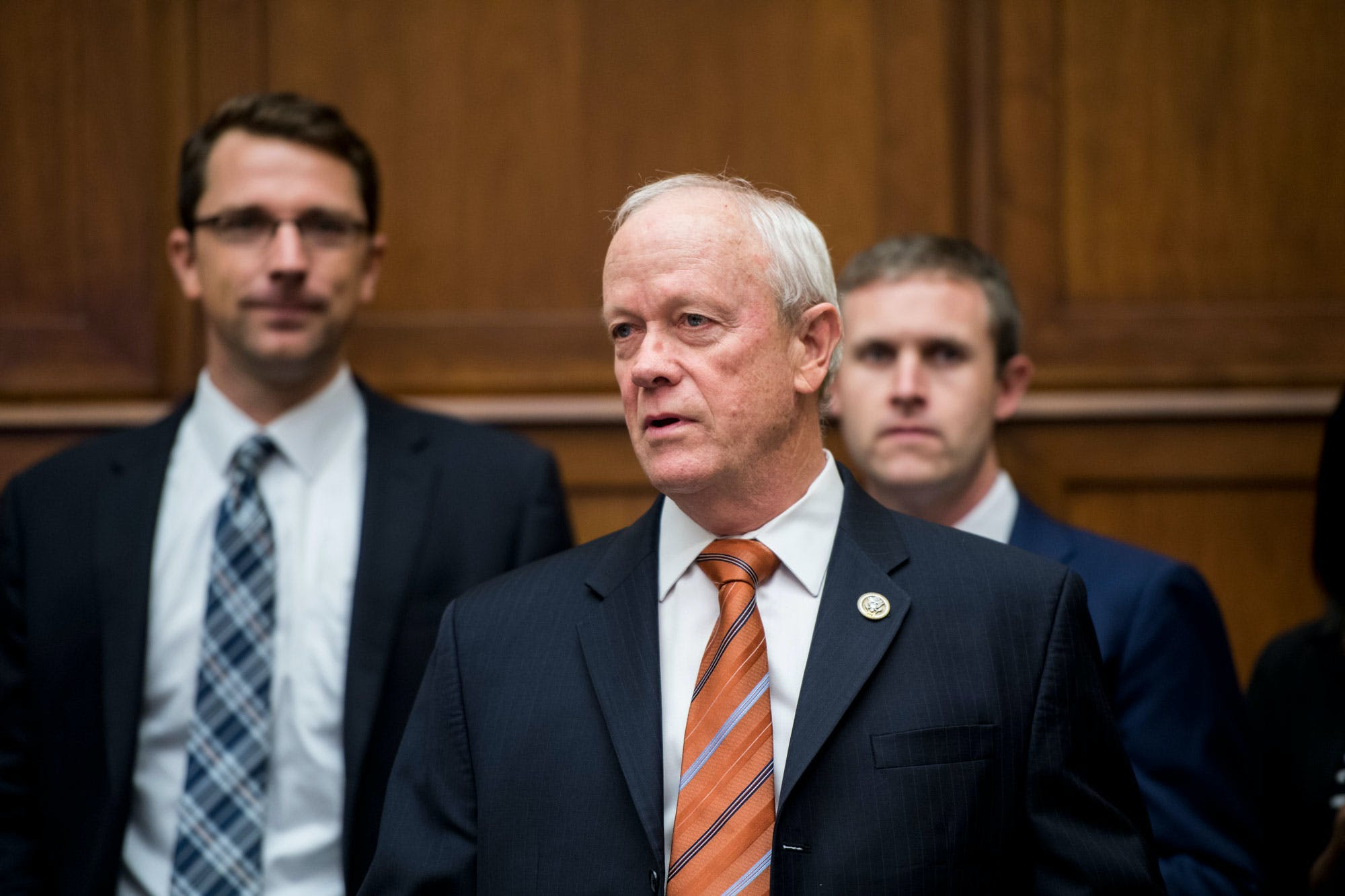 UNITED STATES - OCTOBER 12: Rep. Jerry McNerney, D-Calif., arrives for the House Energy and Commerce Committee hearing on Thursday, Oct. 12, 2017. (Photo By Bill Clark/CQ Roll Call) (CQ Roll Call via AP Images)
