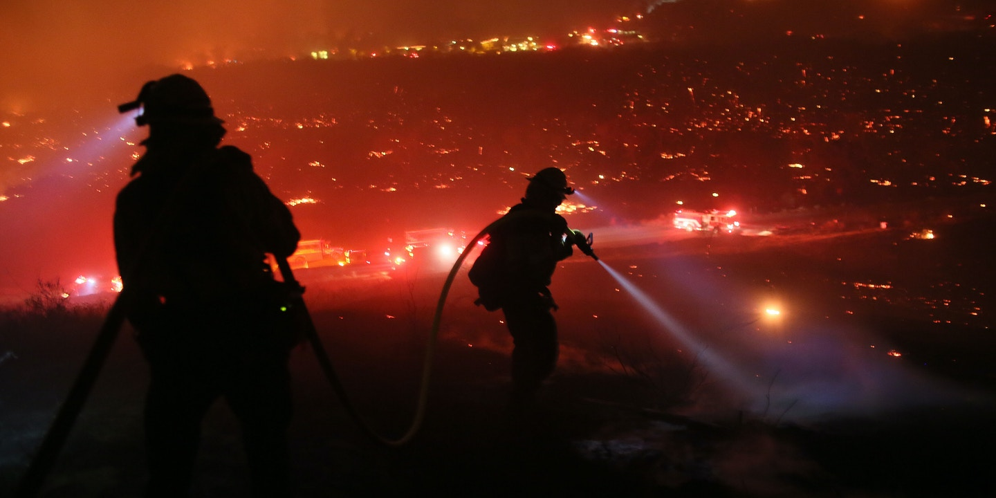 You Cant Go Wrong Blaming Illegal >> La Blames Wildfire On Homeless Ignoring Larger Factors