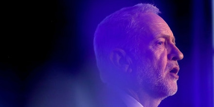 LONDON, ENGLAND - FEBRUARY 20:  Jeremy Corbyn delivers a speech at The Queen Elizabeth II Conference Centre on February 20, 2018 in London, England. Corbyn addressed the EEF manufacturers' organisation saying that his administration would be the first in 40 years to