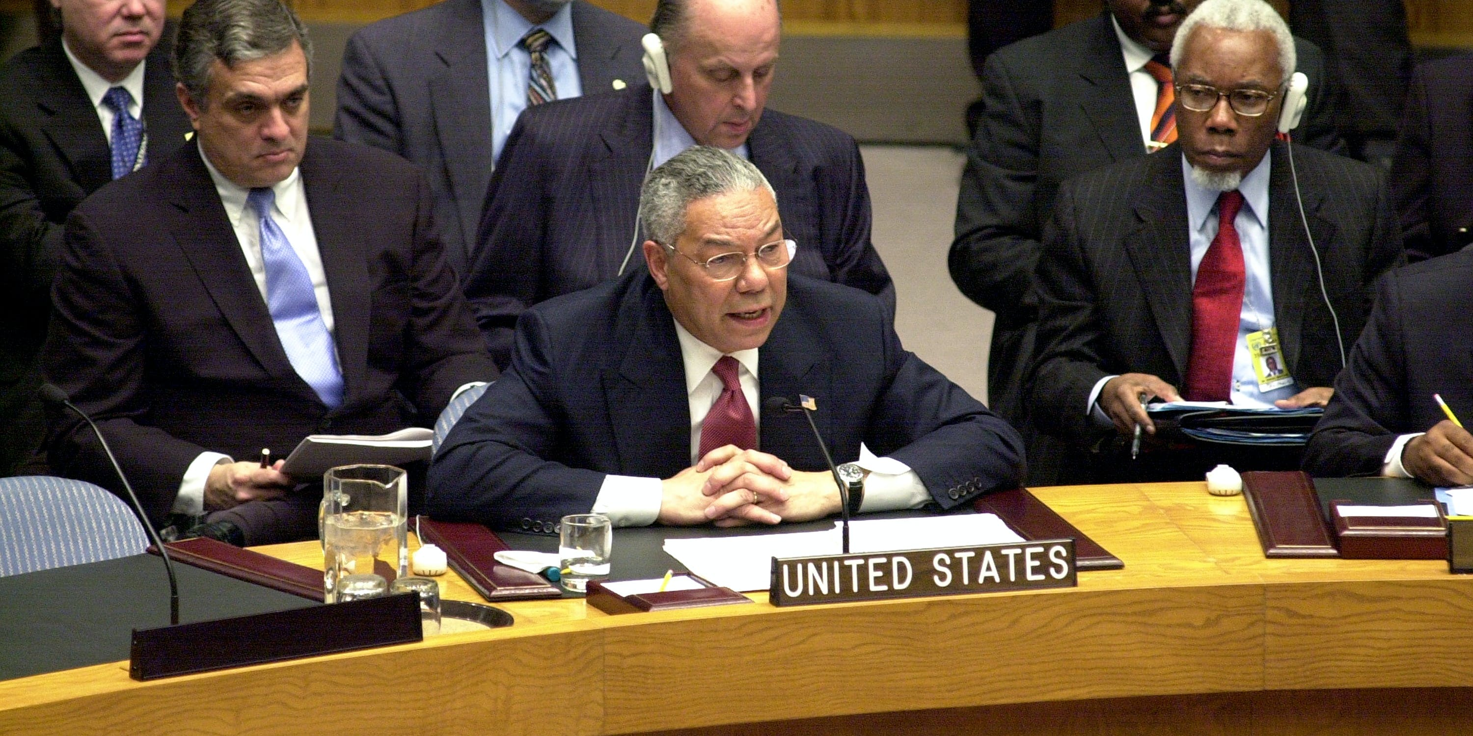 Image result for colin powell un