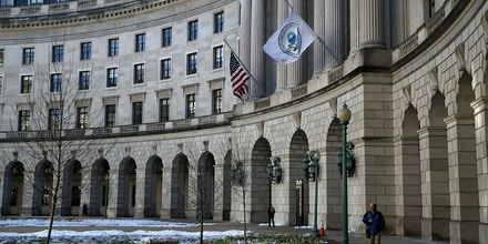 A view of the U.S. Environmental Protection Agency (EPA) headquarters on March 16, 2017 in Washington, DC.