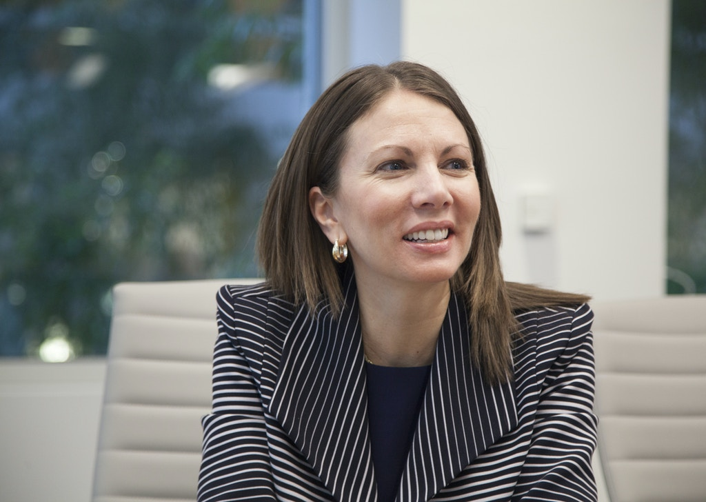 UNITED STATES - November 30: Stacey Evans, candidate for governor of Georgia, is interviewed by CQ Roll Call at their D.C. office, November 30, 2017. (Photo by Thomas McKinless/CQ Roll Call). (CQ Roll Call via AP Images)