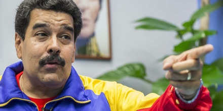 (***FOTO DE ARQUIVO***)__CARACAS  - VENEZUELA -  O Presidente Venezuelano Nicolas Maduro durante entrevista concedida a FOLHA, em Caracas  28.03..2014 -  (Foto Marlene Bergamo/Folhapress) -