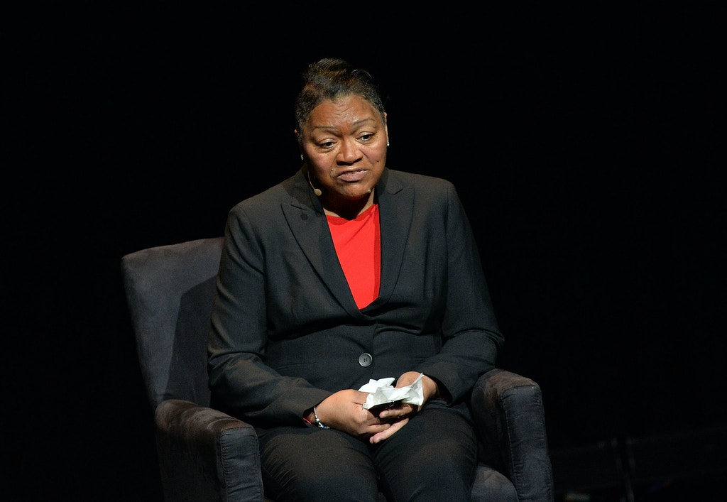 "NEW YORK, NY - JANUARY 29:  Venida Browder, mother of Kalief Browder attends the 2016 ""Tina Brown Live Media's American Justice Summit"" at Gerald W. Lynch Theatre on January 29, 2016 in New York City.  (Photo by Slaven Vlasic/Getty Images)"