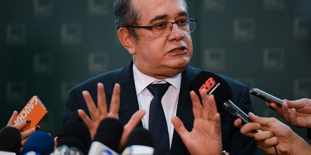 O ministro do Superior Tribunal Federal, Gilmar Mendes fala sobre o financiamento particular de campanhas políticas (Elza Fiúza/Agência Brasil)
