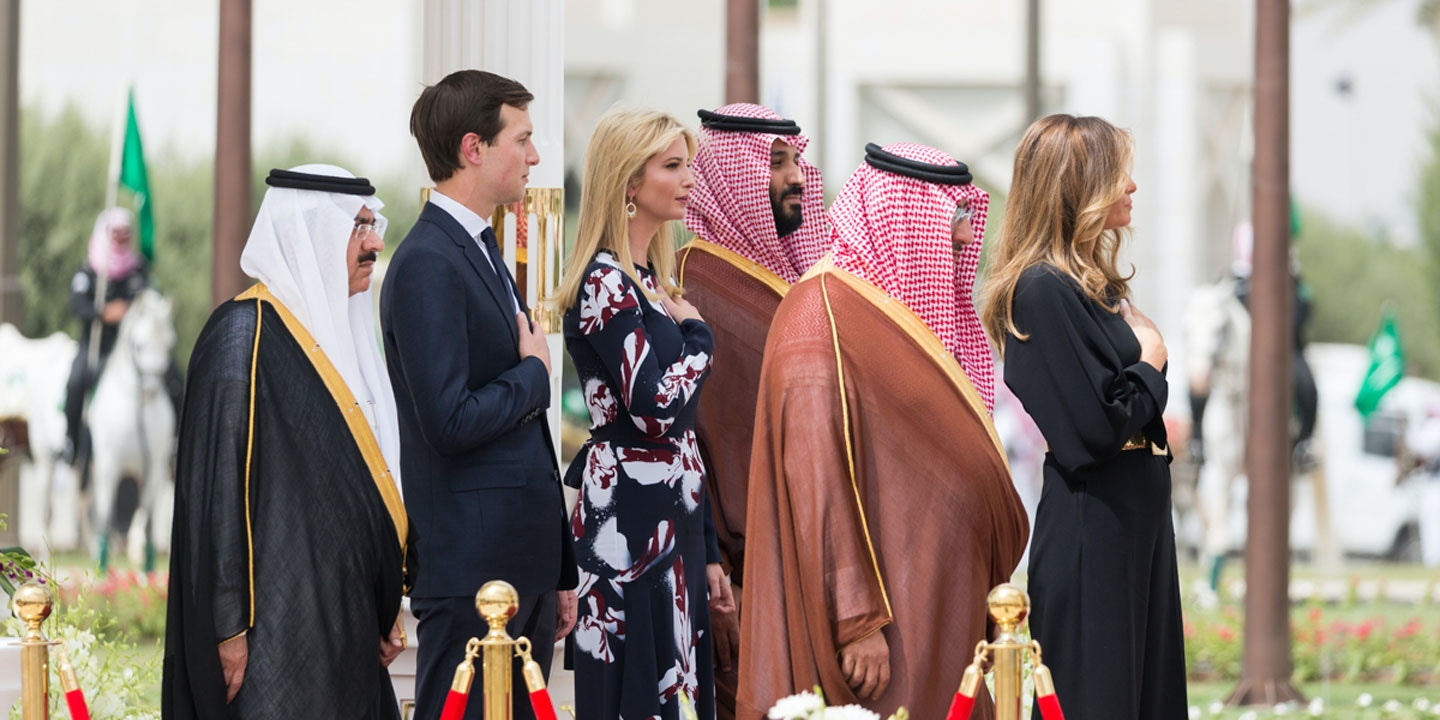Image result for kushner and saudi prince