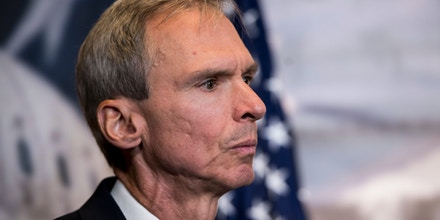 UNITED STATES - OCTOBER 4: Rep. Daniel Lipinski, D-Ill., speaks during the Blue Dog Coalition news conference on tax reform on Wednesday, Oct. 4, 2017. (Photo By Bill Clark/CQ Roll Call) (CQ Roll Call via AP Images)