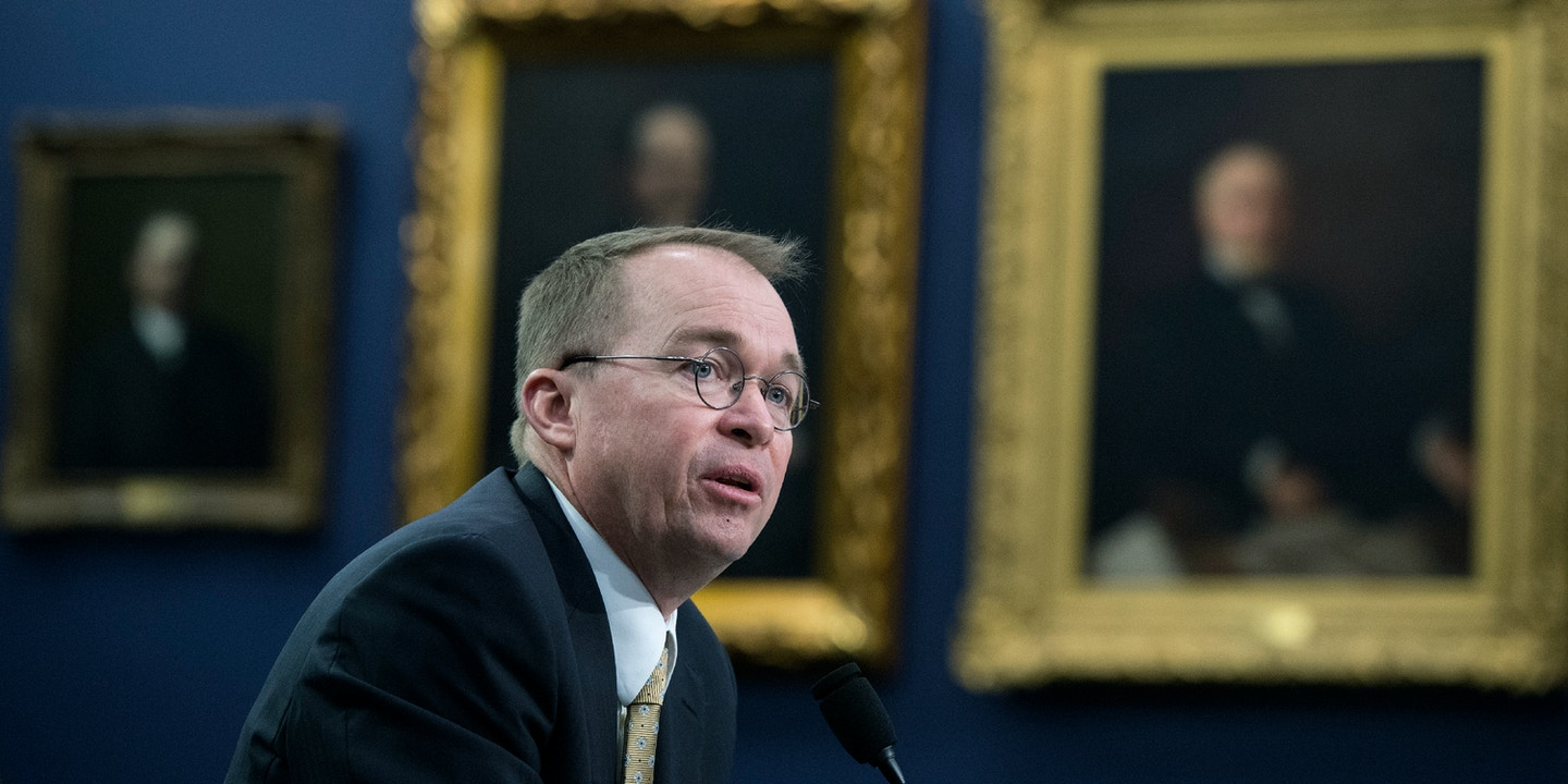 Mick Mulvaney S Wells Fargo Settlement Lets The Bank Decide How