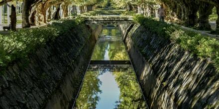 Canal do Rio Bengo, no Parque das Águas, em Caxambu, Minas Gerais, em 26.01.2014.