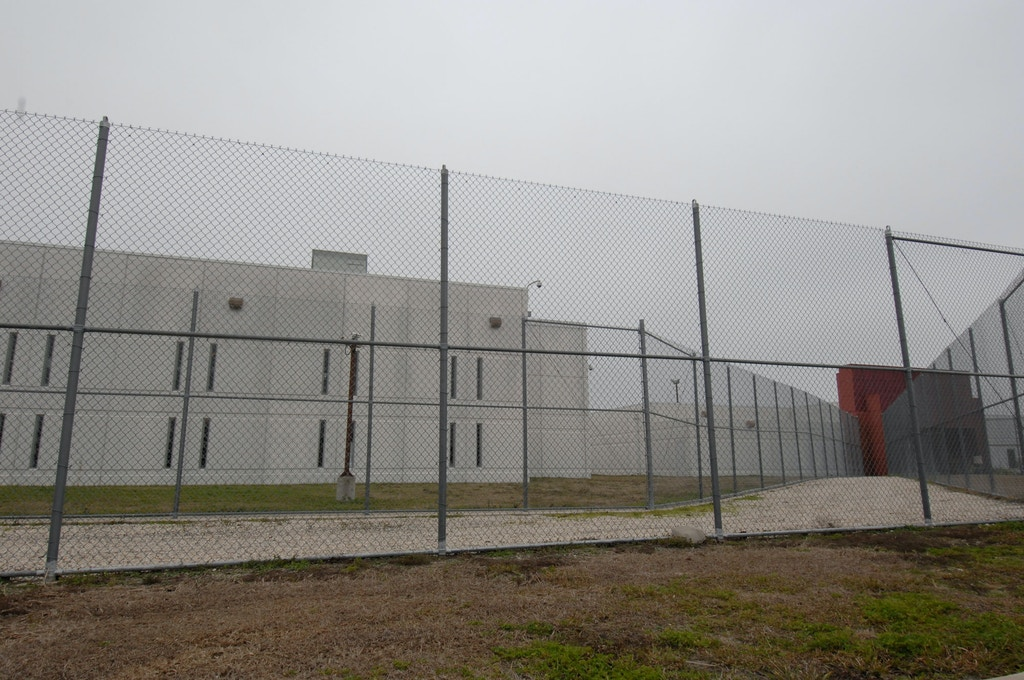 The privately-run T. Don Hutto Residential Center is one of only two federal Immigration and Customs Enforcement (ICE) detention facilities for families with children in the United States. The prison, run by CCA, has come under fire for alleged lack of education for children in the facility. (Photo by Robert Daemmrich Photography Inc/Corbis via Getty Images)
