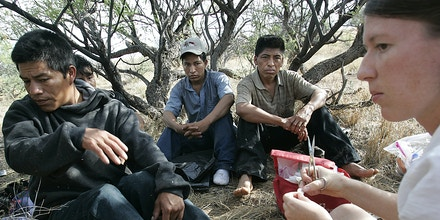 Border Patrol Targets Humanitarian Group No More Deaths