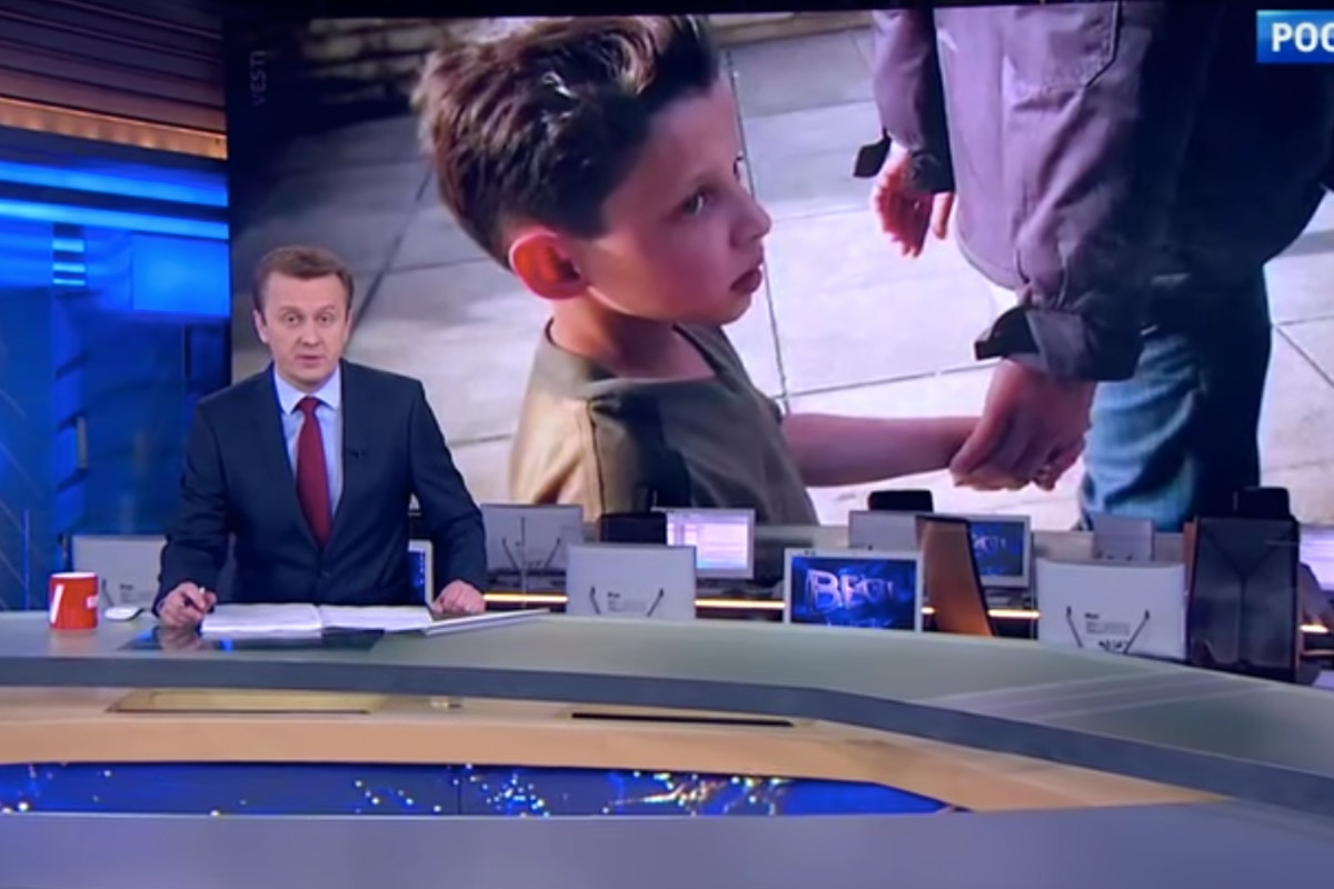 Russian TV Interview With Syrian Boy Was Secretly Conducted at Army Facility