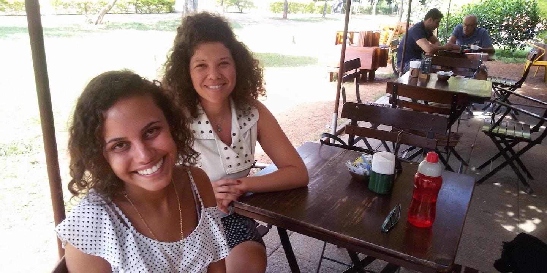 26a1498cc Na reta final do concurso, Rebeca e Verônica passaram a ser consideradas  brancas pelo Rio