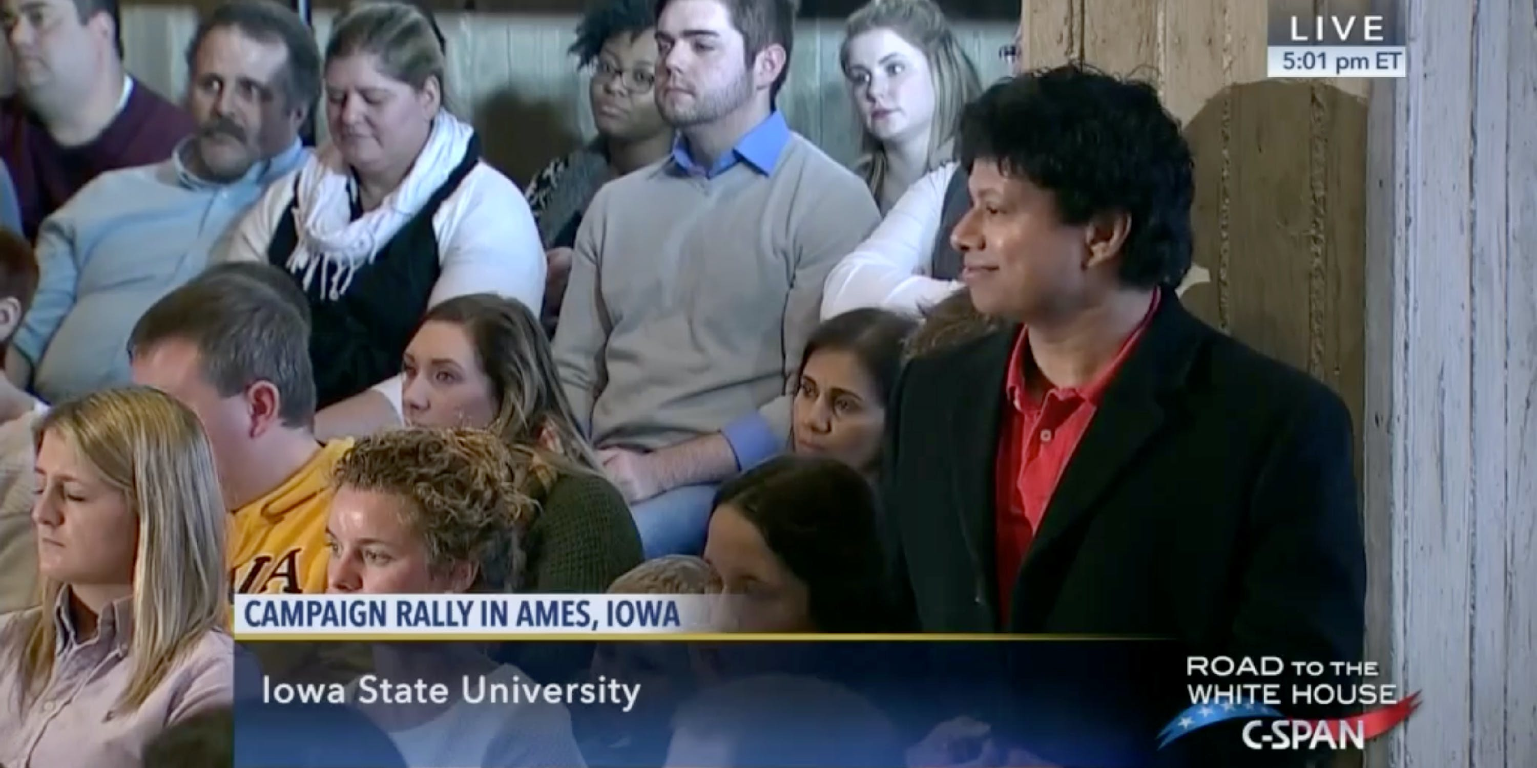 """Most Progressive Democrat"" Shri Thanedar Denied He Was Enamored With Marco Rubio. C-SPAN Footage Begs to Differ."