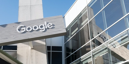 Google's headquarters in Mountain View, Calif., on April 21, 2018.