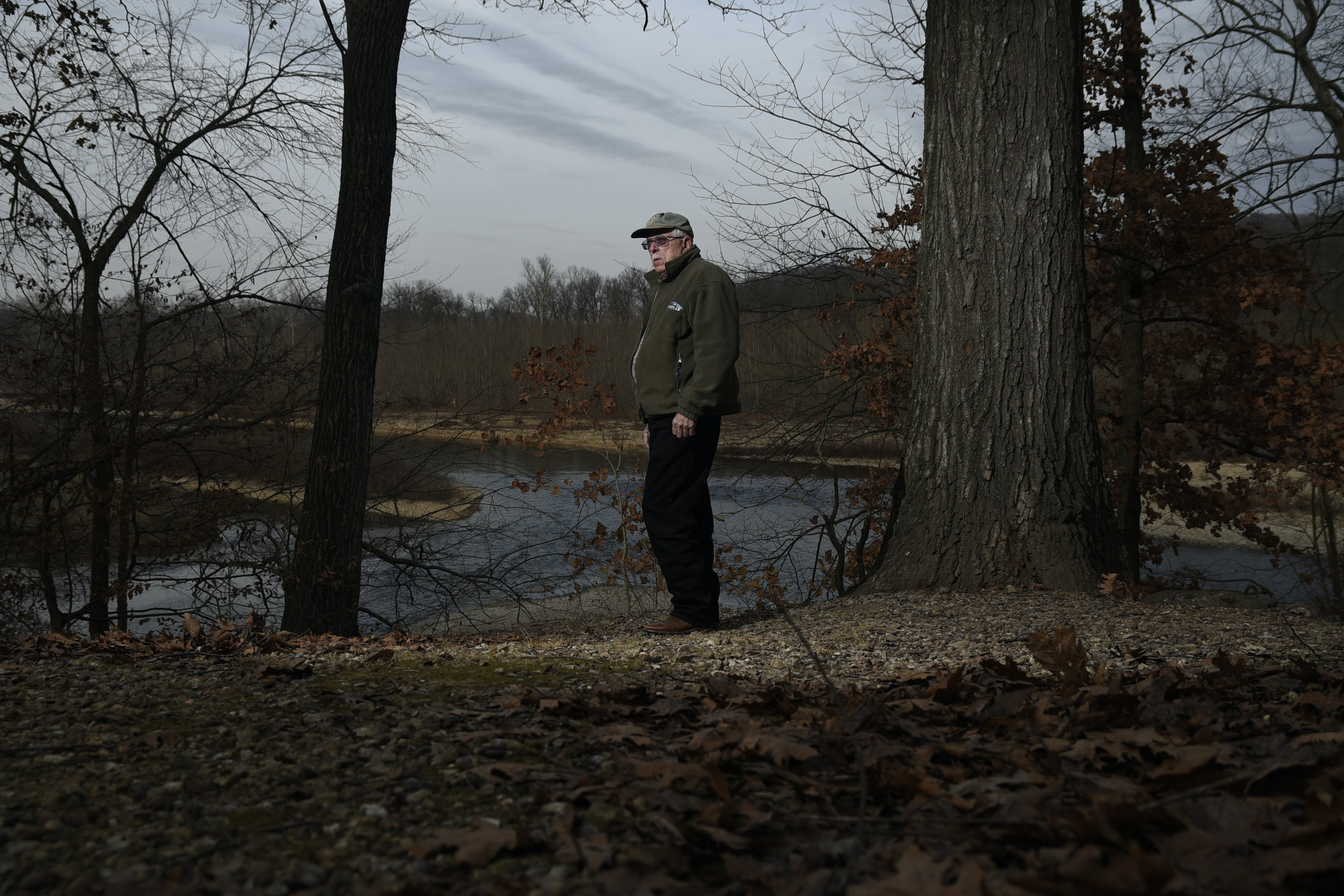 Ed Brocksmith, a co-founder of Save the Illinois River, along its course in Tahlequah, Okla., Jan. 12, 2017. Many residents of eastern Oklahoma are frustrated with Scott Pruitt, who effectively stopped prosecuting environmental crimes during his tenure as attorney general. If confirmed, he would head the EPA as a member of Donald Trump's cabinet. (Nick Oxford/The New York Times)