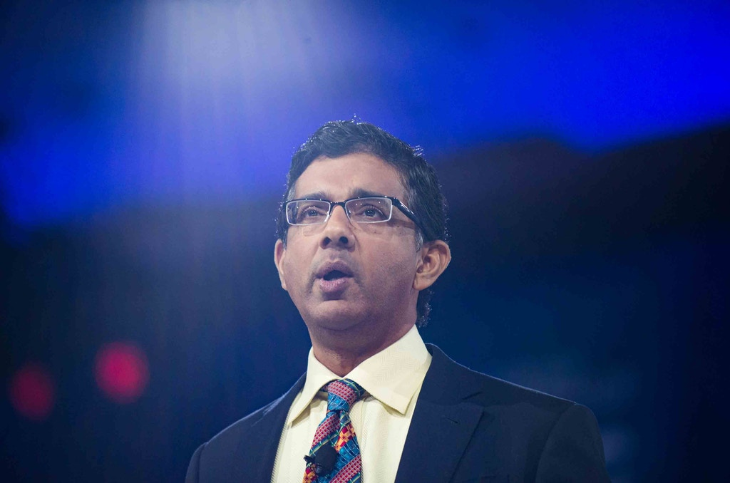 Dinesh D'souza speaks at CPAC  2016 conference, March 5, 2016 in National Harbor, Maryland to promote his new film called The Secret History Of The Democratic Party (Photo by Zach D Roberts/NurPhoto) *** Please Use Credit from Credit Field ***