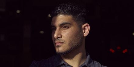 Ahmad Aburas, photographed in New York City on June 21, 2018.