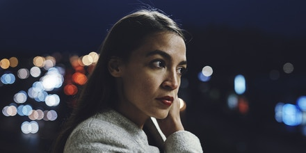 Congressional candidate Alexandria Ocasio-Cortez, poses for a picture in Bronx,  New York, Saturday, April 21, 2018. (Photo: Andres Kudacki)