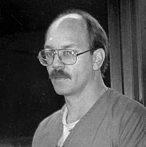 South Dakota death row inmate, Charles Russell Rhines is shown in this 1990s photo, in Rapid City, S.D. The nation's high court is scheduled to hear oral arguments in his case Wednesday, Jan. 12, 2005. Rhines admitted murdering a former co-worker in the 1992 burglary of a Rapid City doughnut shop. (AP Photo/Rapid City Journal)