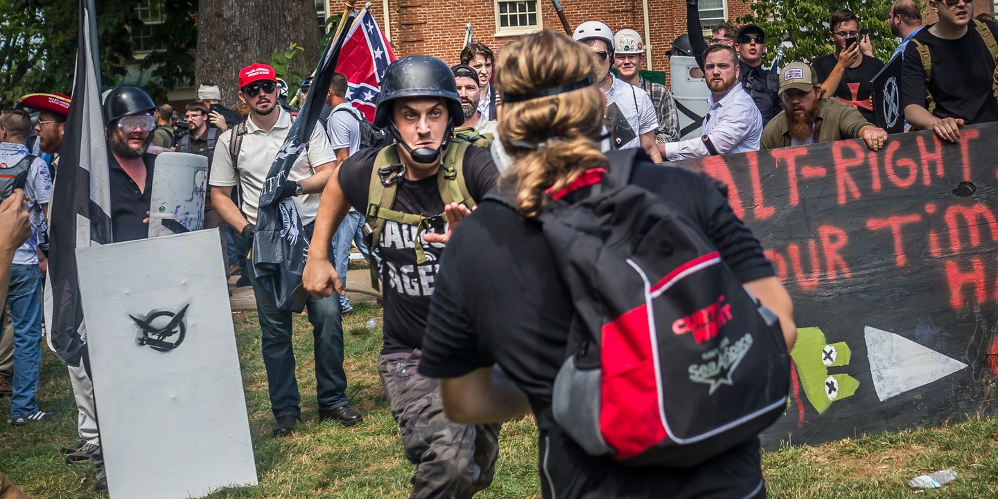 "Alt-Right"" and Anti-Fascists Unite Against Lawsuit Designed to"