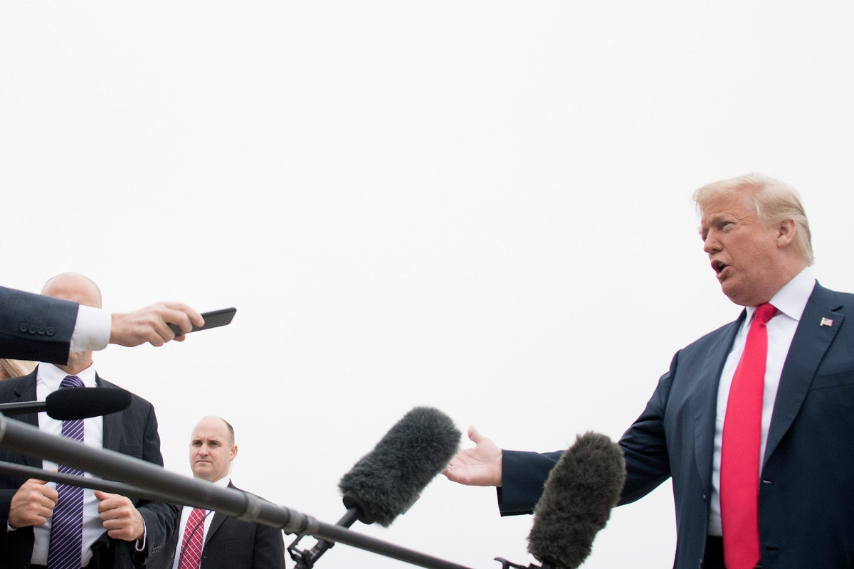 Donald Trump's Surveillance of New York Times Reporter Is a True Declaration of War Against the Press