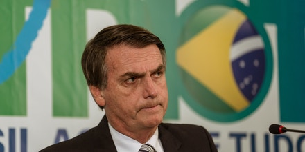 Federal Congressman and current presidential poll leader Jair Bolsonaro