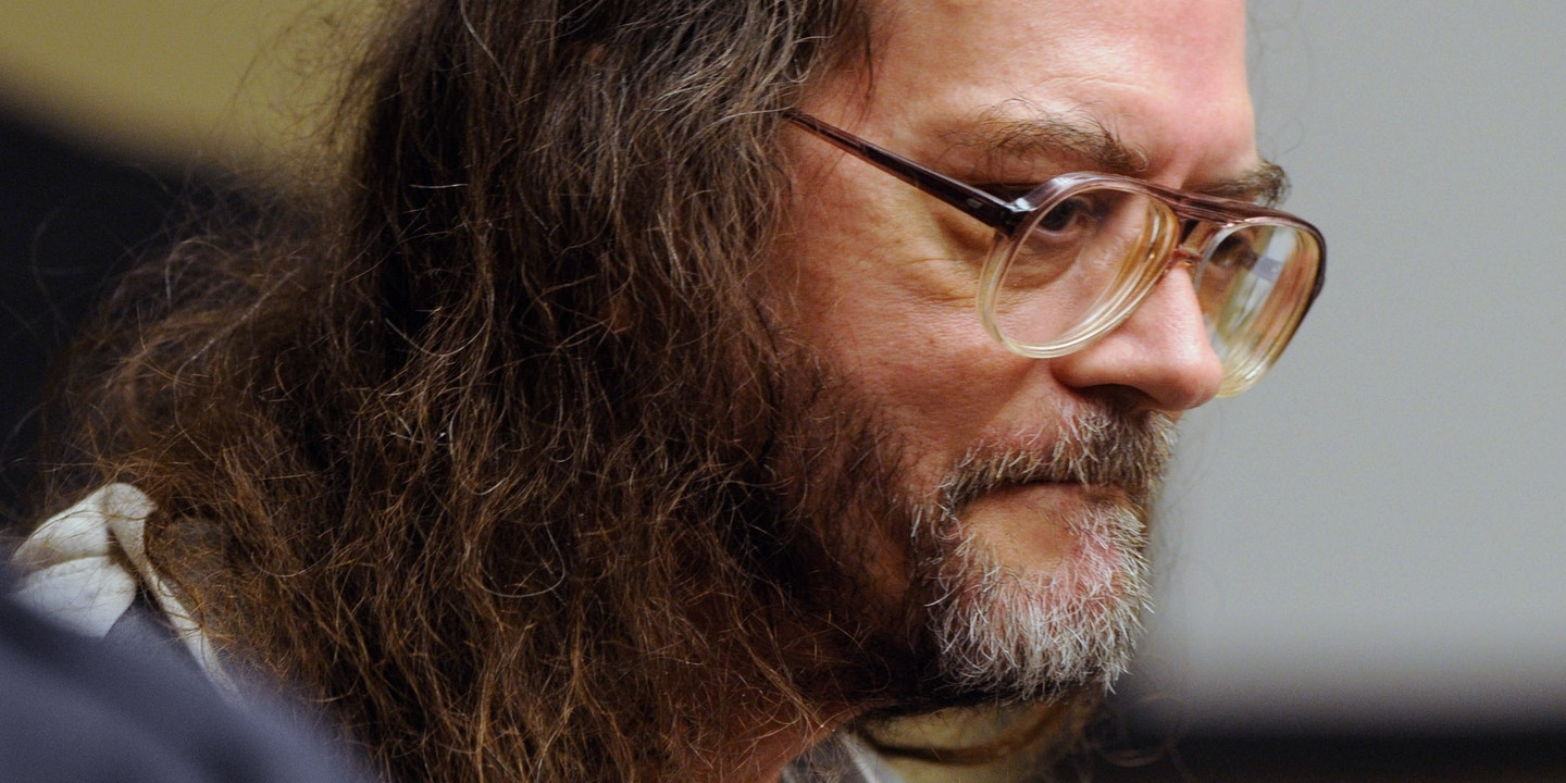 FILE - In this Aug 16, 2010, file photo, Billy Ray Irick, who is on death row for raping and killing a 7-year-old girl in 1985, appears in a Knoxville, Tenn., courtroom. The state Supreme Court on Thursday, Sept. 25, 2014, ruled that Irick's execution scheduled for Oct. 7 should be put on hold while a challenge to the state's lethal injection and electrocution procedures works its way through the courts. (AP Photo/The Knoxville News Sentinel, Michael Patrick, File)
