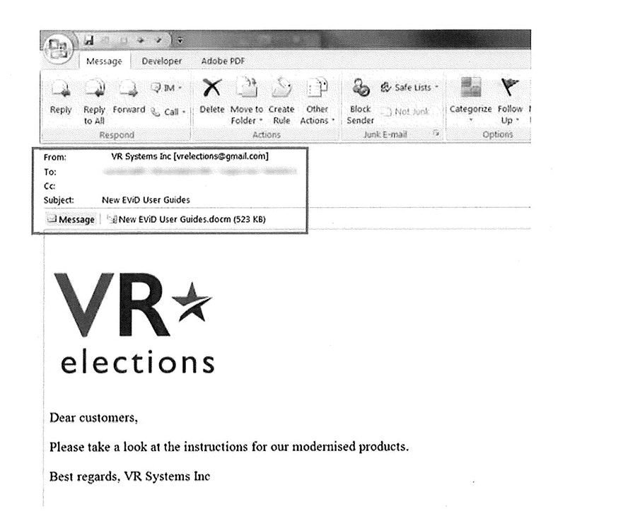 Mueller Indictment Verifies Voting Vendor Hacking by Russians