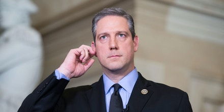 UNITED STATES - JANUARY 30: Rep. Tim Ryan, D-Ohio, is seen in Statuary Hall before President Donald Trump's State of the Union address to a joint session of Congress in the House chamber on January 30, 2018. (Photo By Tom Williams/CQ Roll Call) (CQ Roll Call via AP Images)