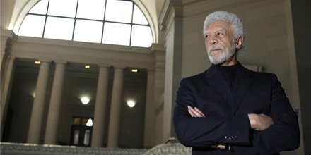 Oakland Mayor Ron Dellums poses for a portrait in the rotunda at City Hall  in Oakland, Calif., Thursday, March 12, 2009. This city of 400,000 unrolling from the shores of the San Francisco Bay is a study in contrasts, charming neighborhoods and a prosperous professional class juxtaposed with chronic violence and pockets of poverty. Lately, the more troubled side of the city has been on display. (AP Photo/Eric Risberg)