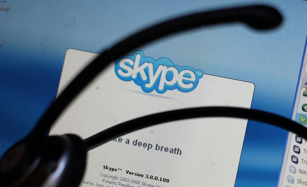 NEW YORK - SEPTEMBER 01:  In this photo illustration, the Skype internet phone program is seen September 1, 2009 in New York City. EBay announced it will sell most of its Skype online phone service to a group of investors for $1.9 billion, a deal that values Skype at $2.75 billion.  (Photo Illustration by Mario Tama/Getty Images)