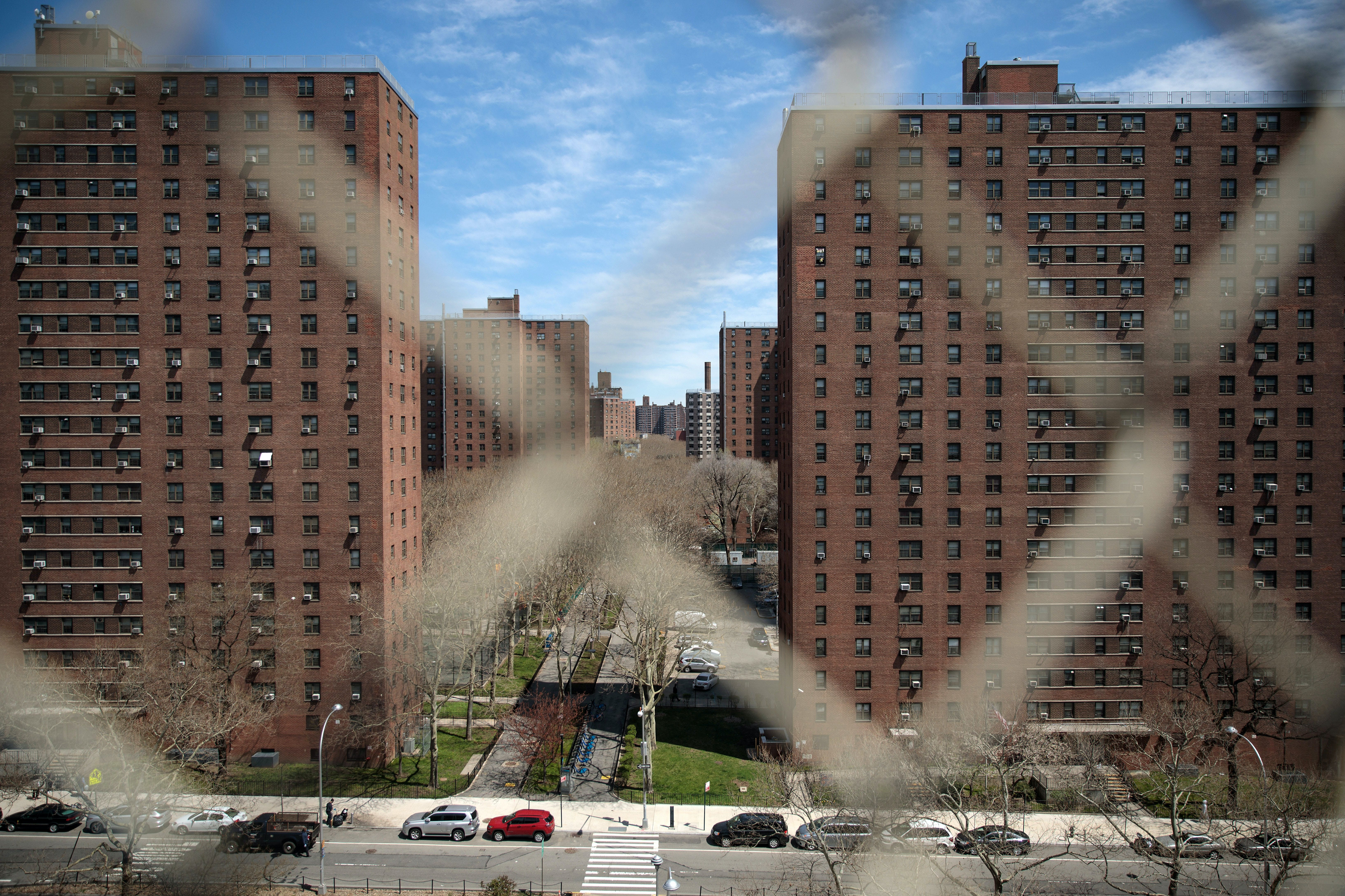 NEW YORK, NY - APRIL 26: The Henry Rutgers Houses, a public housing development built and maintained by the New York City Housing Authority (NYCHA), stand in in the Lower East Side of Manhattan, April 26, 2018 in New York City. Housing and Urban Development Secretary Ben Carson has proposed changes to federal housing subsidies, potentially tripling rent for some households and making it easier for housing authorities to impose work requirements. Under the proposed plan, millions of families living in federally subsidized public housing would have to pay more in rent. (Photo by Drew Angerer/Getty Images)