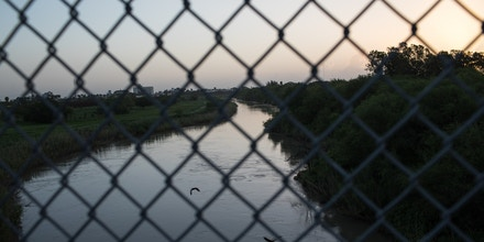 MATAMOROS, MX - JUNE 28: The Rio Grande flows under the Brownsville & Matamoros International Bridge on June 28, 2018 near Brownsville, Texas. Despite the Trump administration ending the zero-tolerance policy toward immigration, attention remains focused on the U.S.-Mexico border where migrants from Central America continue to arrive on a daily basis. (Photo by Tamir Kalifa/Getty Images)