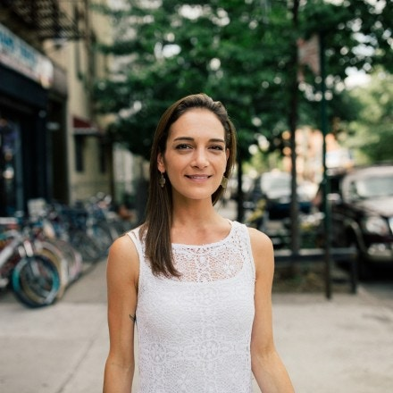 Julia Salazar in Bushwick, Brooklyn captured by José A. Alvarado Jr. in New York City, New York, 2018/07/18.