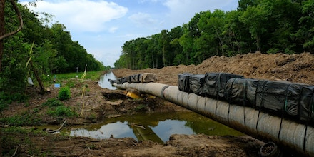Energy Transfer Partners is building the Bayou Bridge Pipeline through the Atchafalaya Basin.