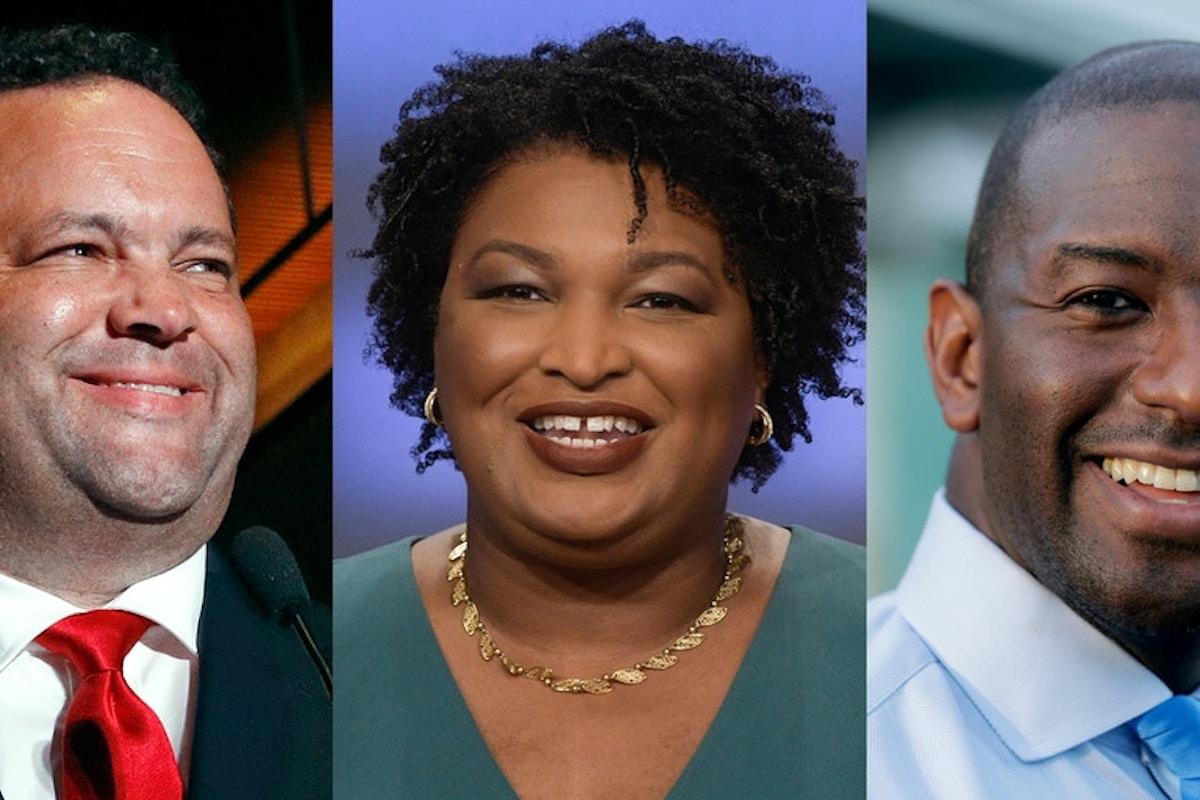 Nos EUA, eles podem ser os primeiros governadores negros de seus estados
