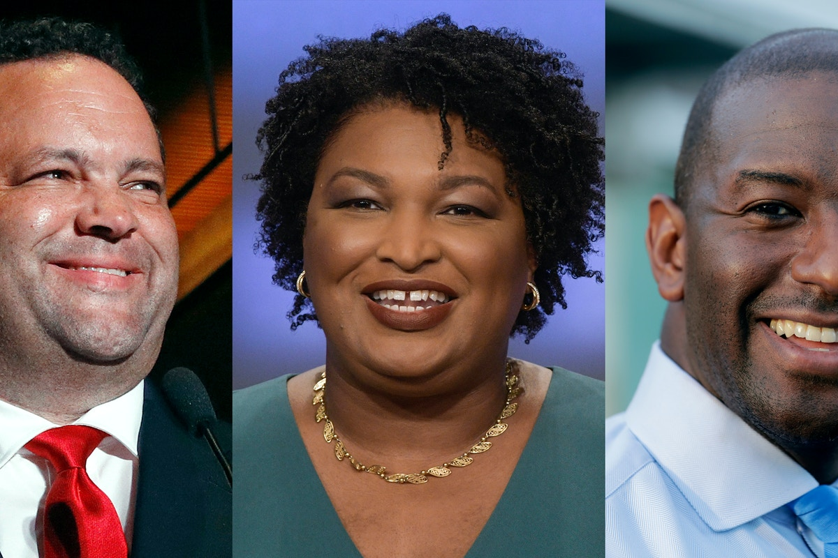 Andrew Gillum, Stacey Abrams, and Ben Jealous Could Be the First Black Governors of Their States. Here's How They Got This Far.