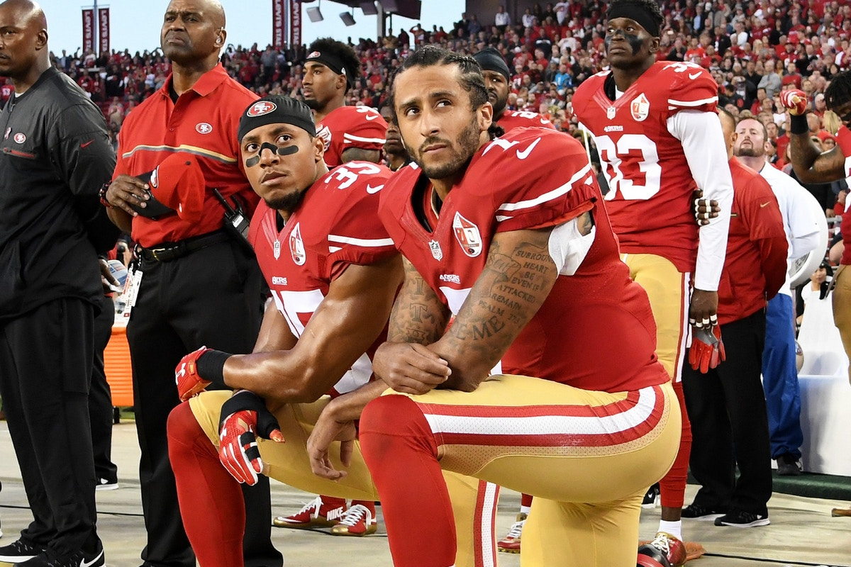 The Best Evidence That the NFL Effectively Banned Colin Kaepernick? His Name Is Eric Reid.