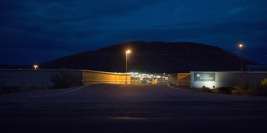 CBP border patrol station where Dr. Warren was held in custody after his arrest.