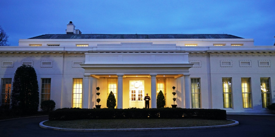 A February 1, 2018 photo shows the West Wing of the White House in Washington, DC. / AFP PHOTO / MANDEL NGAN        (Photo credit should read MANDEL NGAN/AFP/Getty Images)