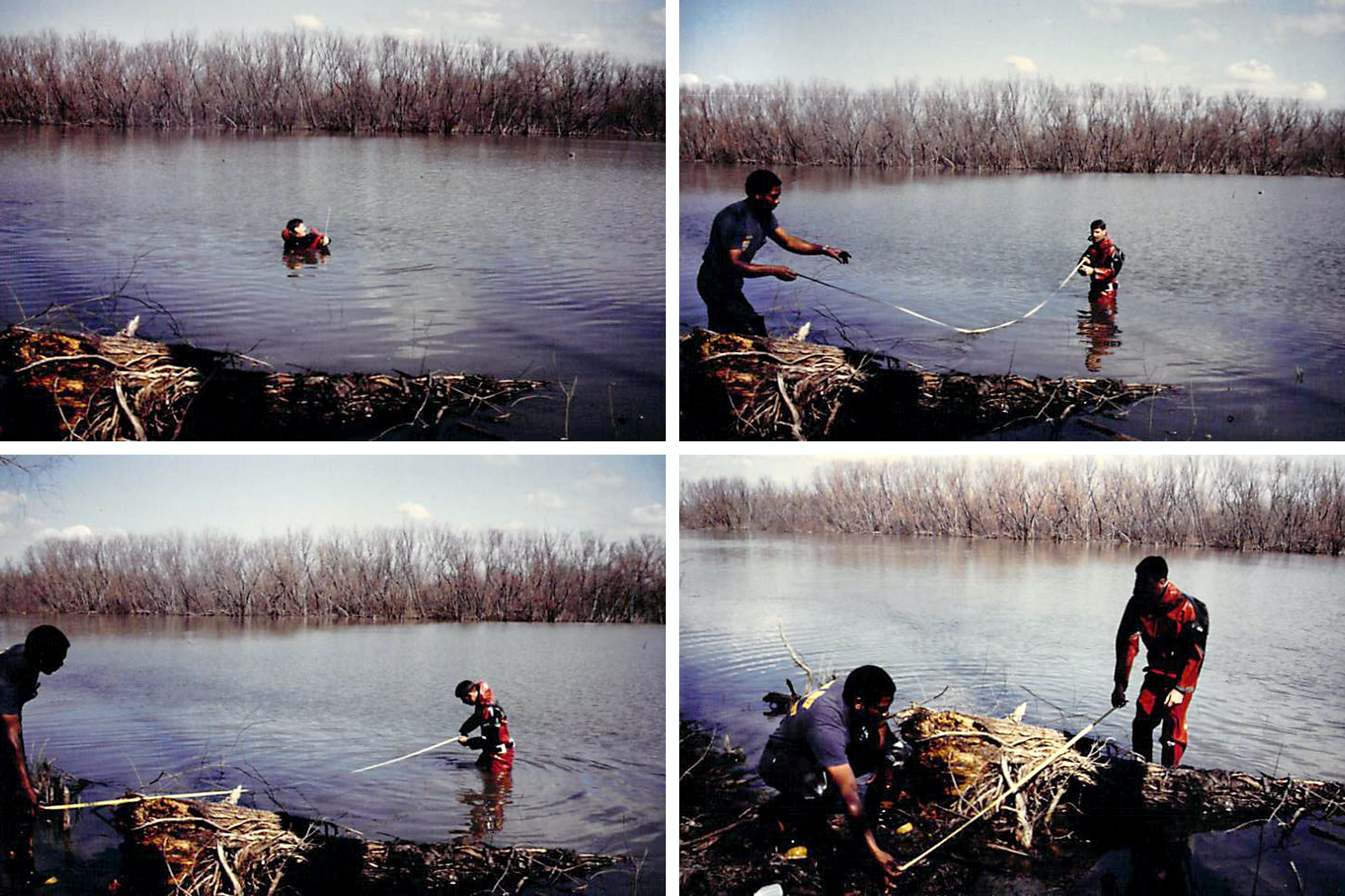 A Fishing Outing, a Child Drowned  It Was a Tragic Accident