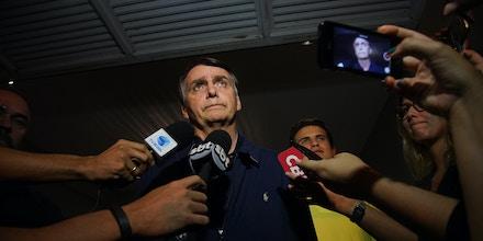 *ARQUIVO* RIO DE JANEIRO, RJ, 09.10.2018 - O presidenciável Jair Bolsonaro (PSL). (Foto: Ricardo Borges/Folhapress)