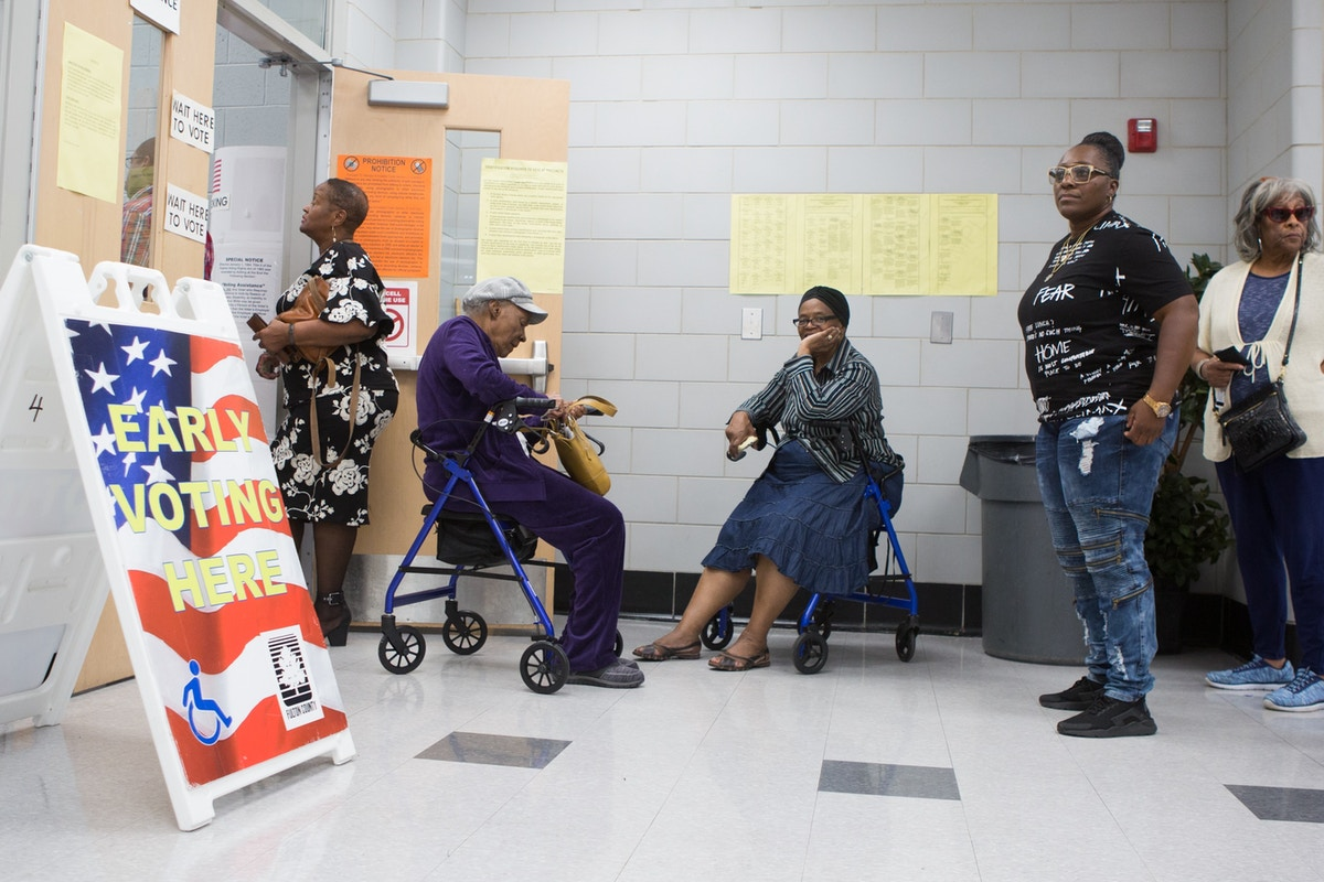 Staggering Voter Suppression in Georgia Could Keep Democrats Out of Power
