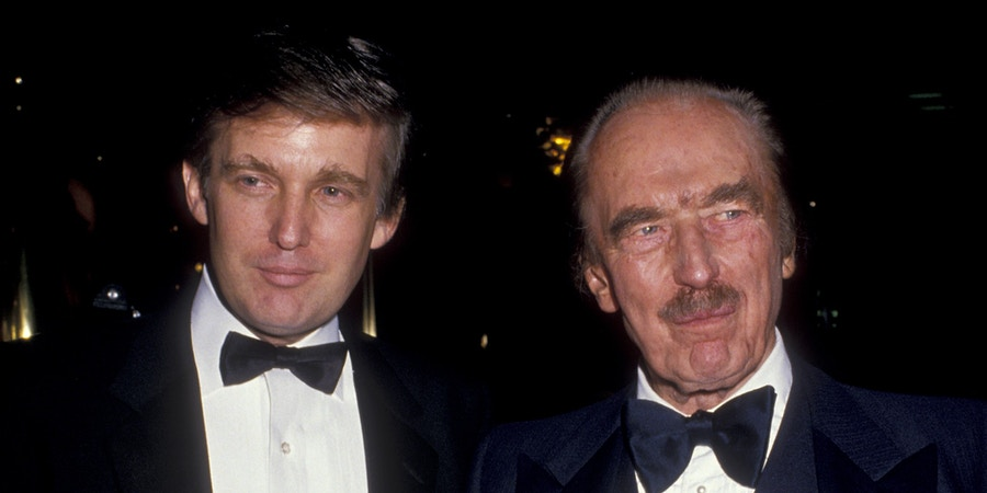 NEW YORK CITY - DECEMBER 12:  Donald Trump and Fred Trump attend