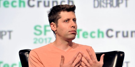 Y Combinator President Sam Altman speaks onstage during TechCrunch Disrupt SF 2017 in San Francisco, Calif., on Sept. 19, 2017.